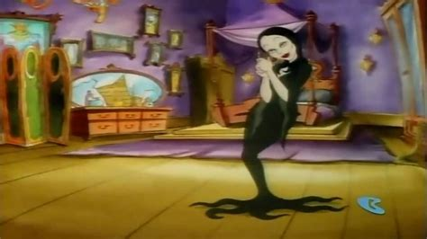 The Addams Family intro cartoon theme song HD 720p - YouTube