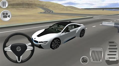 BMW i8 Driving Simulator (by AG Games) - Android Gameplay