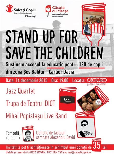 Stand-Up for Save The Children @Oxford Pub | IasiFun