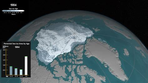 See how Arctic sea ice is losing its bulwark against