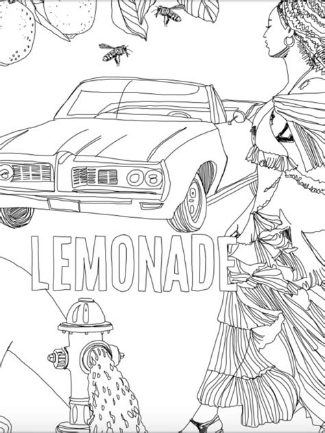 Beyonce Coloring Pages at GetColorings