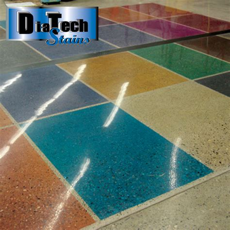 Diatech Stains - Polished Concrete Dyes - Substrate