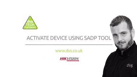 Activate Device Using SADP Tool - YouTube