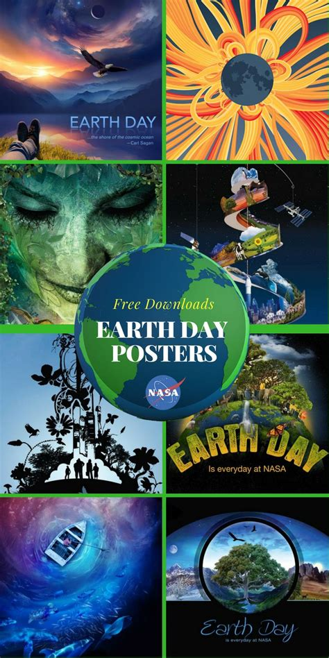 NASA Earth Day Posters: Download these free printable