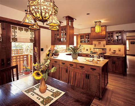Today's Arts & Crafts Kitchens - Design for the Arts