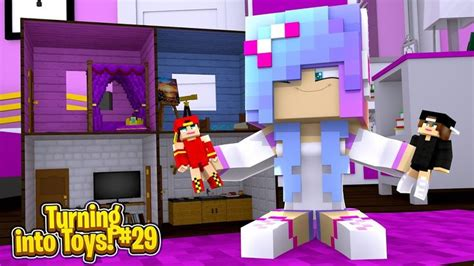 Minecraft Toys #29 - THE LITTLE SISTER TURNS ROPO & JACK