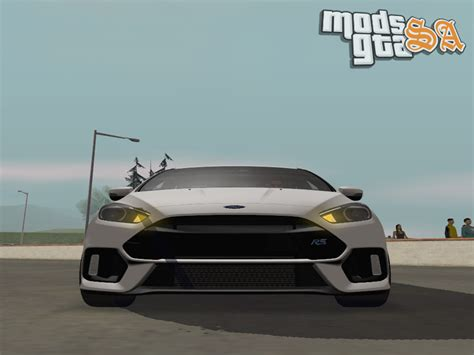 Mods GTA San Andreas: Ford Focus RS 2017