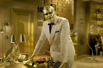 A Gold-Coated Billy Zane is New KFC Celebrity Colonel