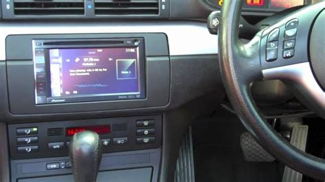 BMW E46 3 Series - Integration of a Pioneer Double Din Sat