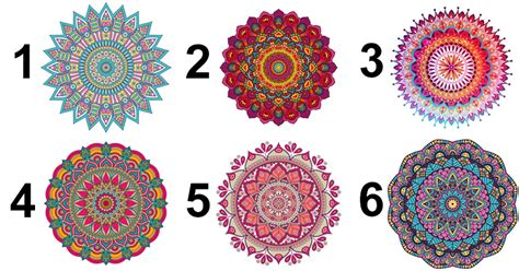 Pick A Mandala To Find Its Hidden Message For YOU! - David