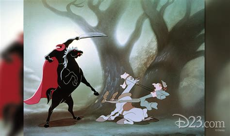 Haunting Imagery from The Legend of Sleepy Hollow - D23