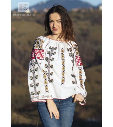 ie traditionala - ie moldoveneasca   Embroidered blouse