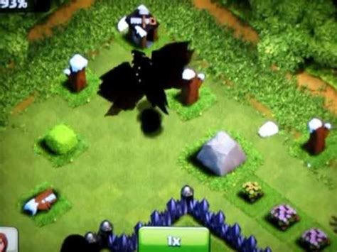 Attacked by 10 level 3 dragons (and a pekka and spells