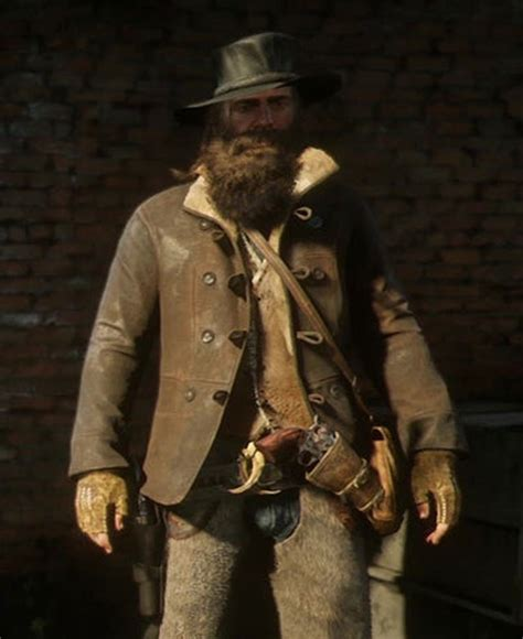 Game Red Dead Redemption 2 Scout Jacket - Films Jackets